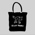 Hellcat Records : Cat Logo Canvas