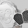 Misfits : White Emb Coffin Case