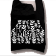 Misfits : Cotton Black/White Hoodie Bag