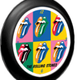 Rolling Stones : Tongues Plastic Clock