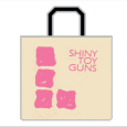 Shiny Toy Guns : Pink Logo (White)