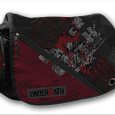 Underoath : Distressed Red & Black