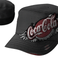 Coca Cola : Melange Winged Logo Cadet