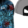 Miami Ink : Full Printed Blue Cap