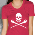 Pride Street : Skull & Hurley (Womens Red)