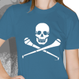 Pride Street : Skull & Hurley (Womens Royal Blue)