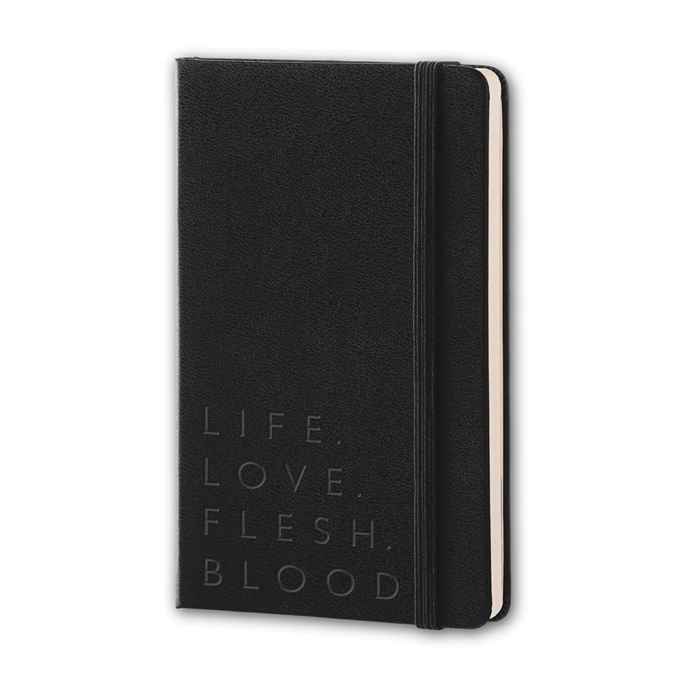 Imelda May - Embossed Notebook (Black)