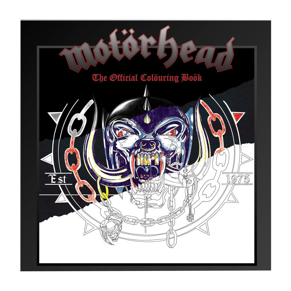 Motorhead - Motorhead Colouring Book