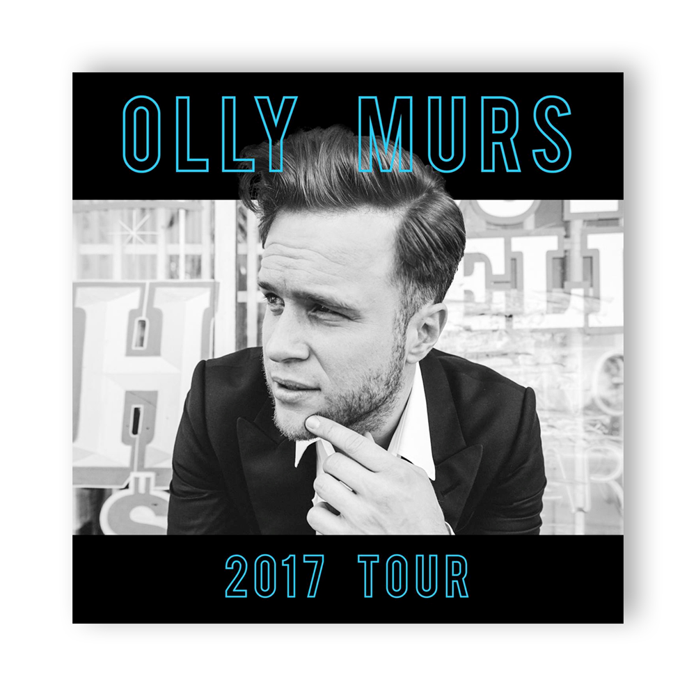 Olly Murs - 2017 Tour Programme