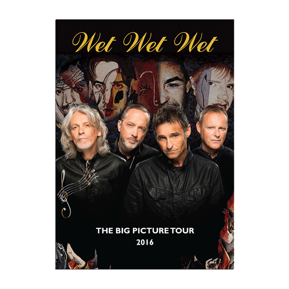Wet Wet Wet - 2016 Official Programme