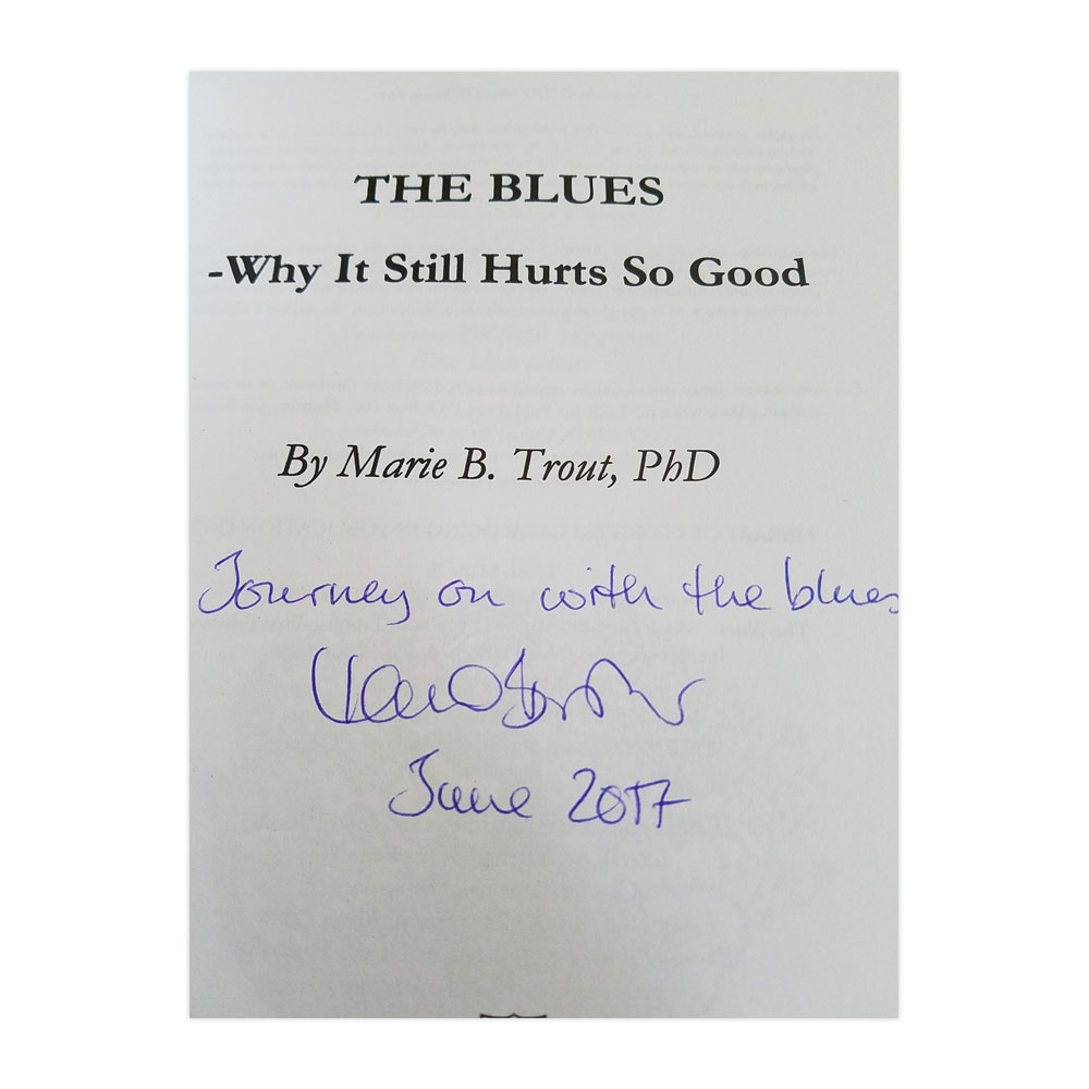 Walter Trout - The Blues (Signed) [USA]