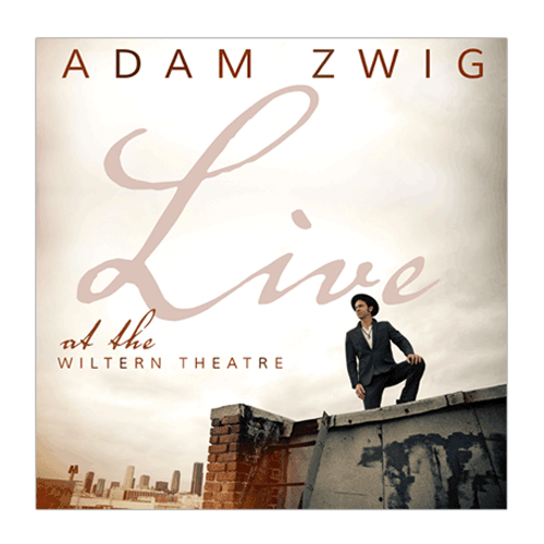 Adam Zwig - Live at the Wiltern Theatre (Vinyl)