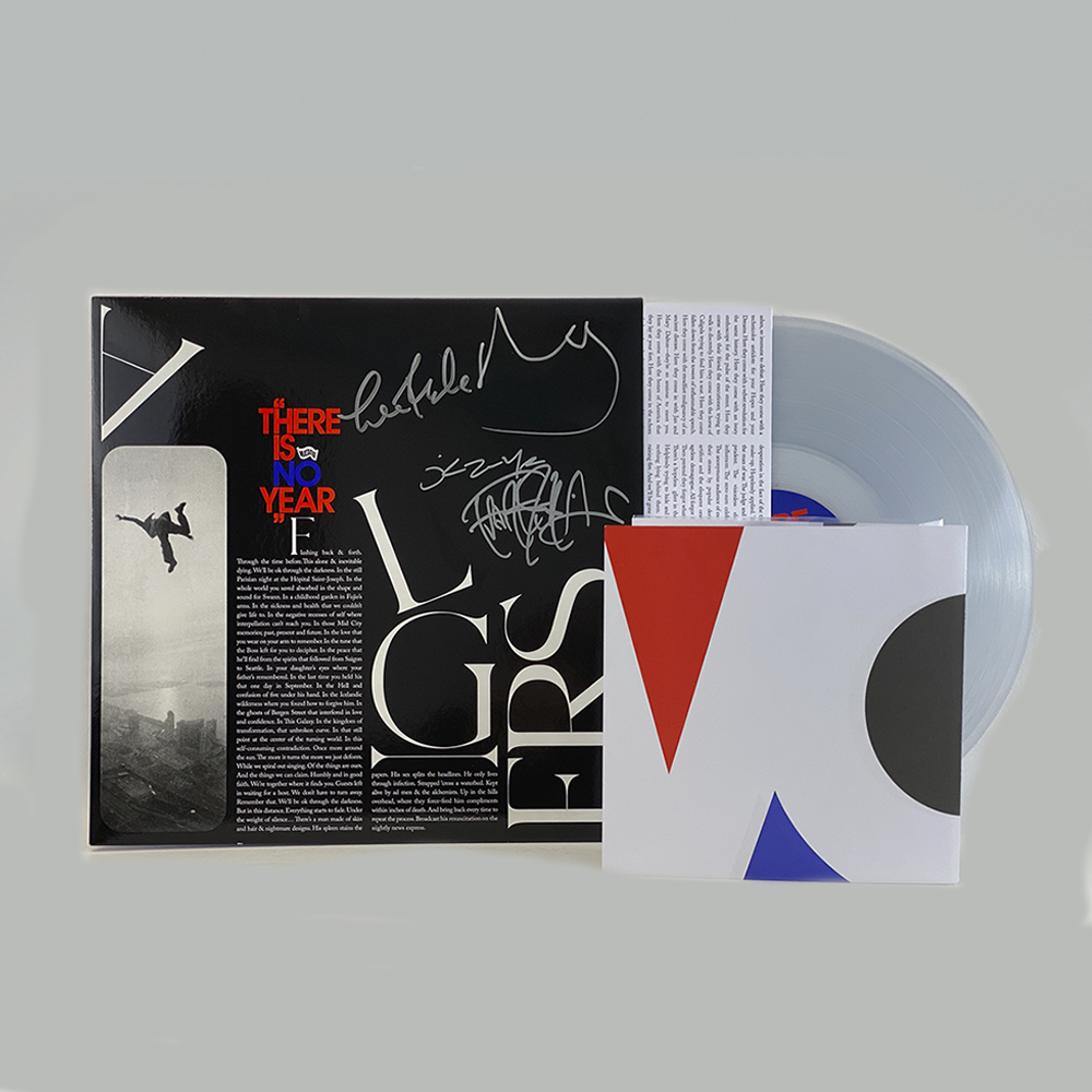 Algiers - There Is No Year (Signed Clear Vinyl LP)