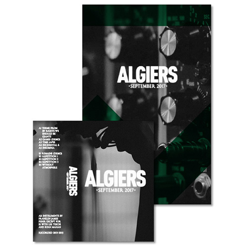 Algiers - September 2017 Zine #2 w/ B-Side & Rarities Tour Tape