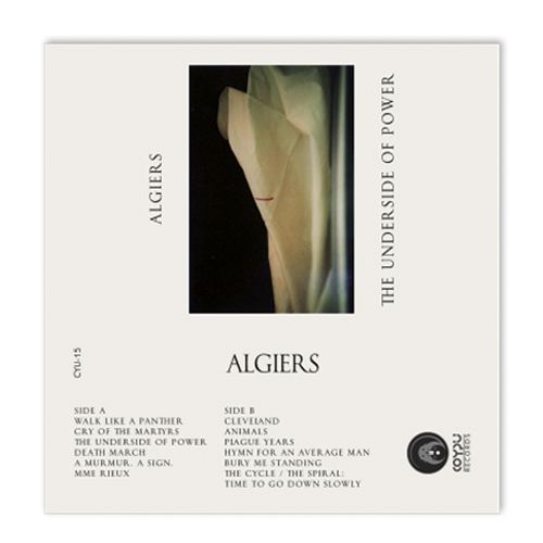 Algiers - The Underside of Power Cassette