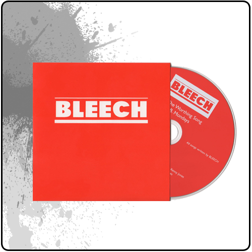 Bleech - The Worthing Song CD single