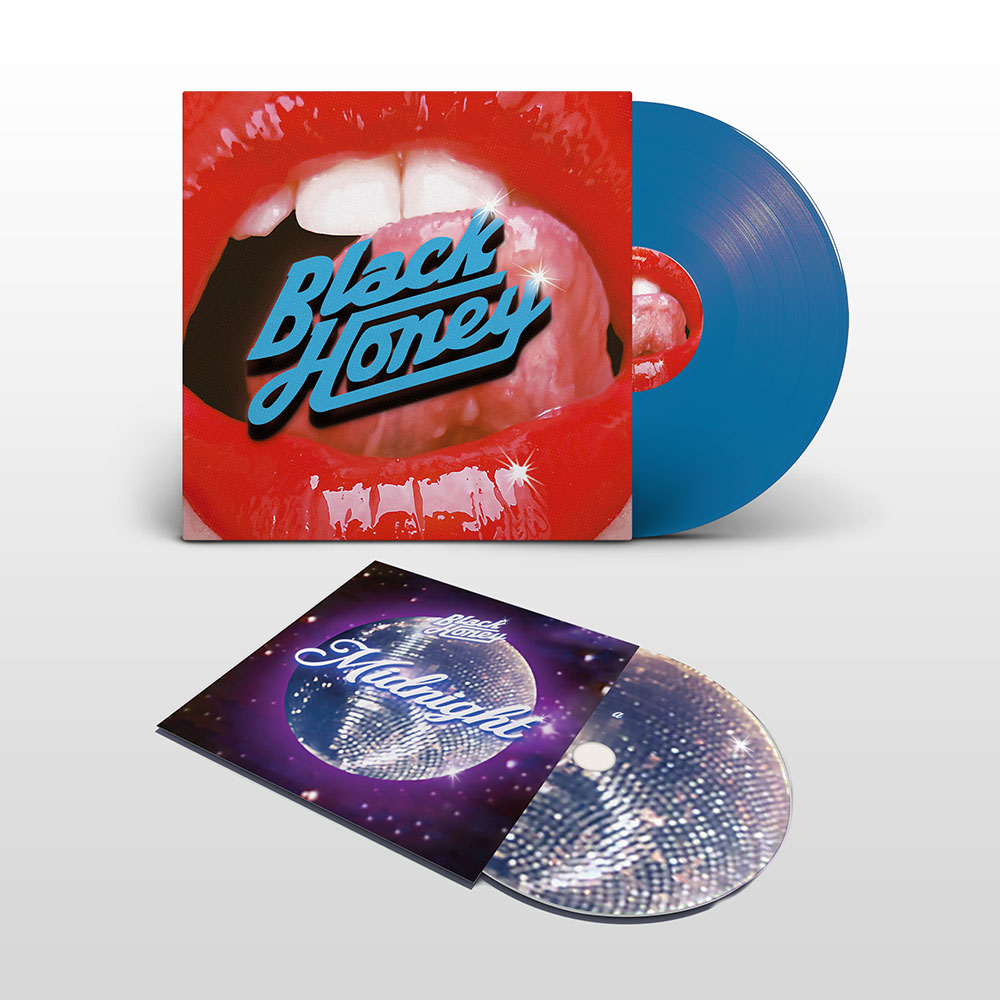 Black Honey - 12inch Album and 7inch Midnight Single