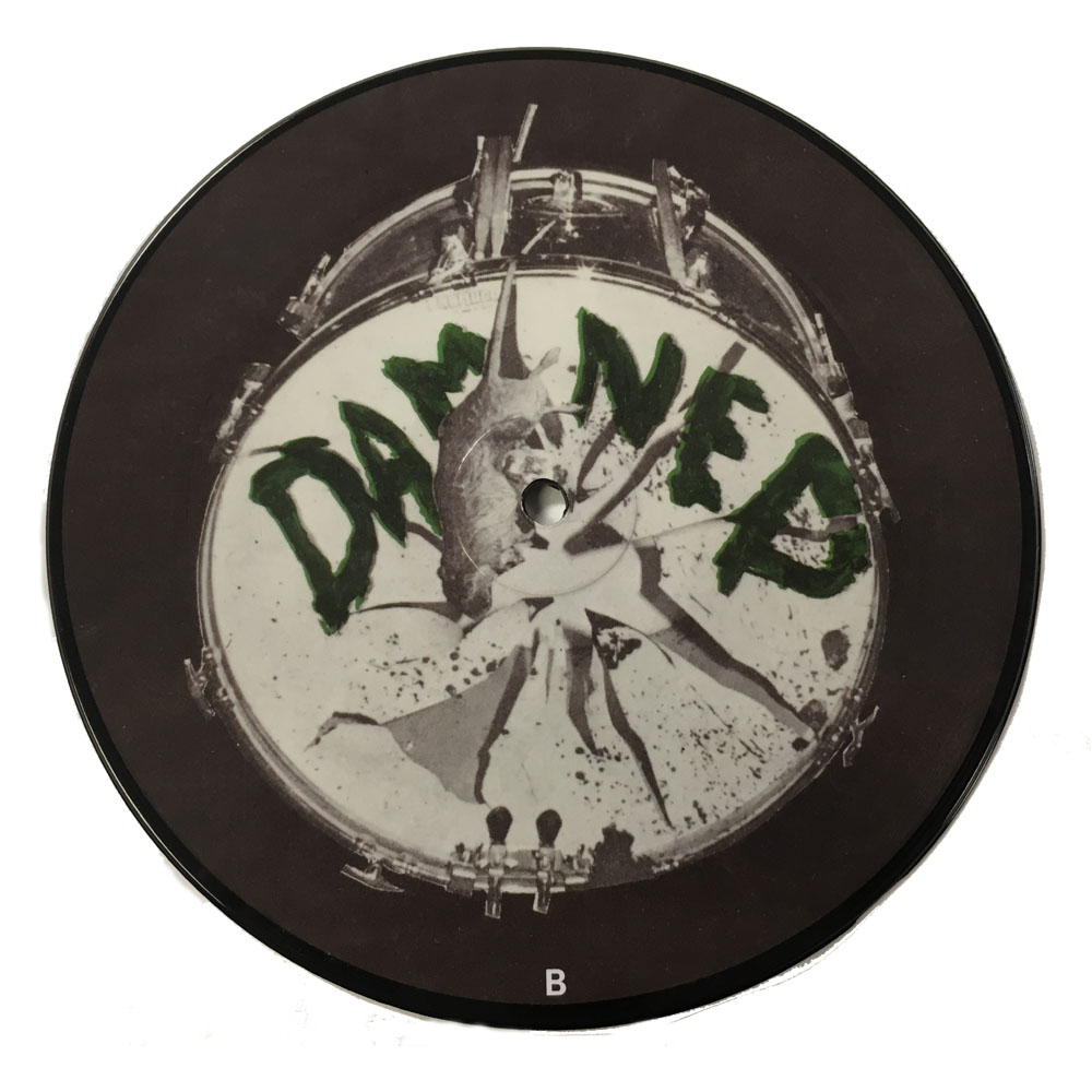 "The Damned - New Rose 40th Anniversary  Edition 7"" Picture Disc"