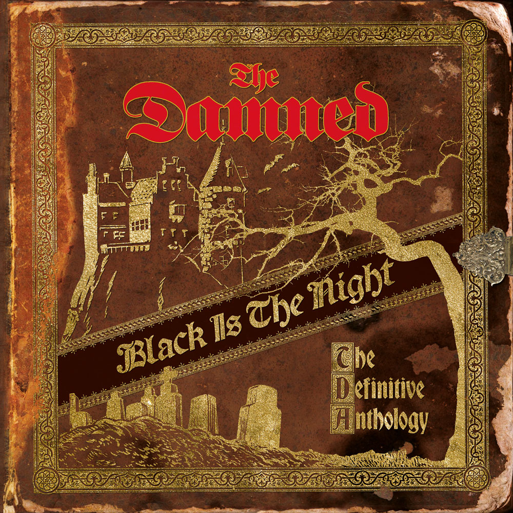 The Damned - Black Is The Night (The Definitive Anthology)