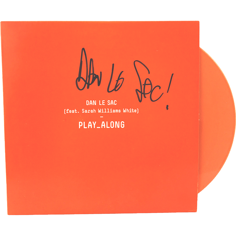 "Dan Le Sac - Play Along (Signed 7"")"