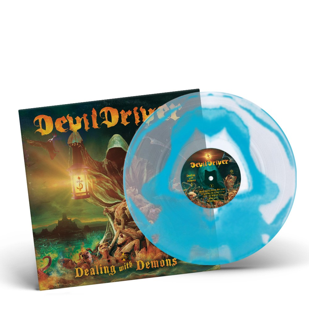DevilDriver - Dealing with Demons (Turquoise)