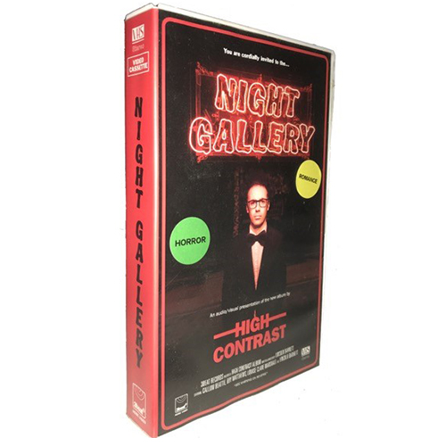 High Contrast - Night Gallery Limited Edition Signed VHS
