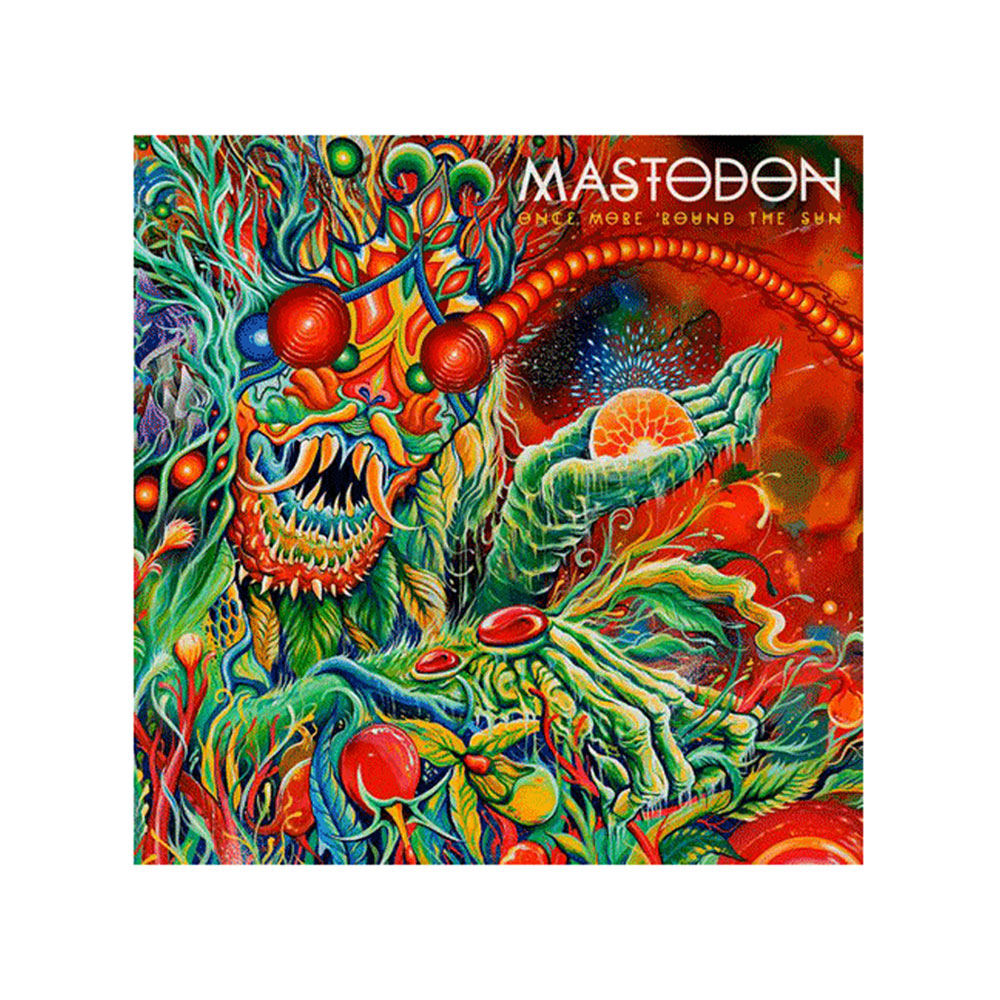 Mastodon - Once More Round the Sun CD