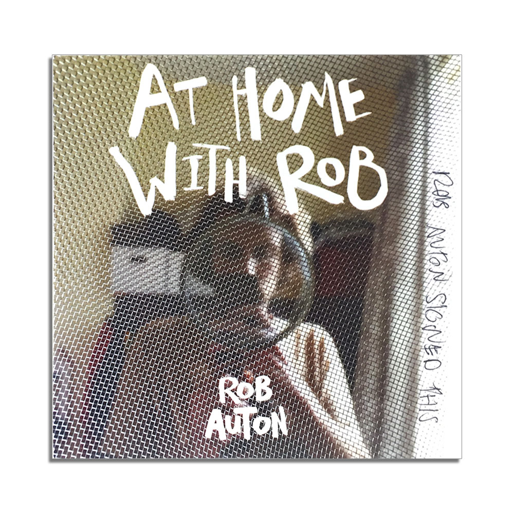 Rob Auton - At Home With Rob Auton (Signed CD)