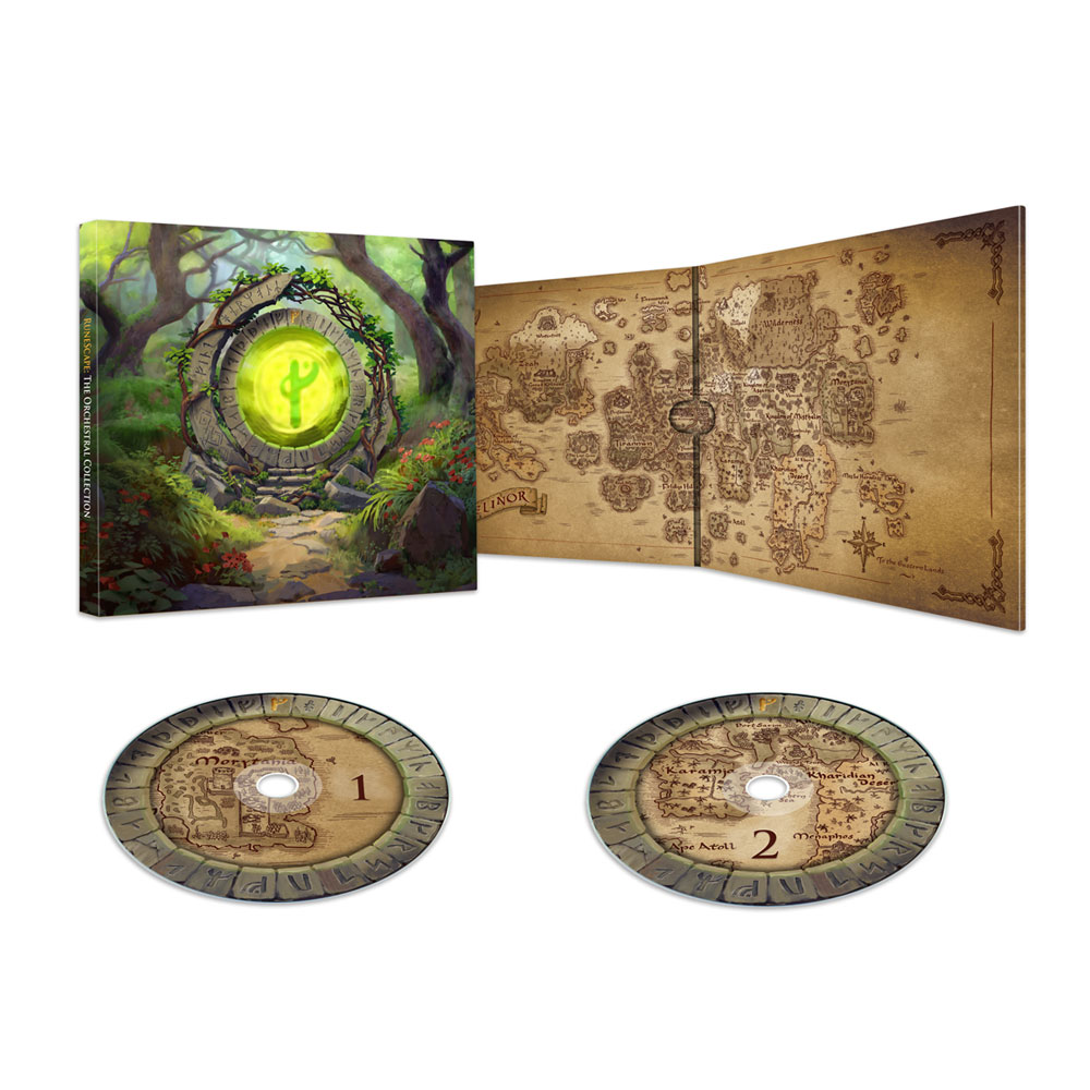 RuneScape - The Orchestral Collection (Double CD)