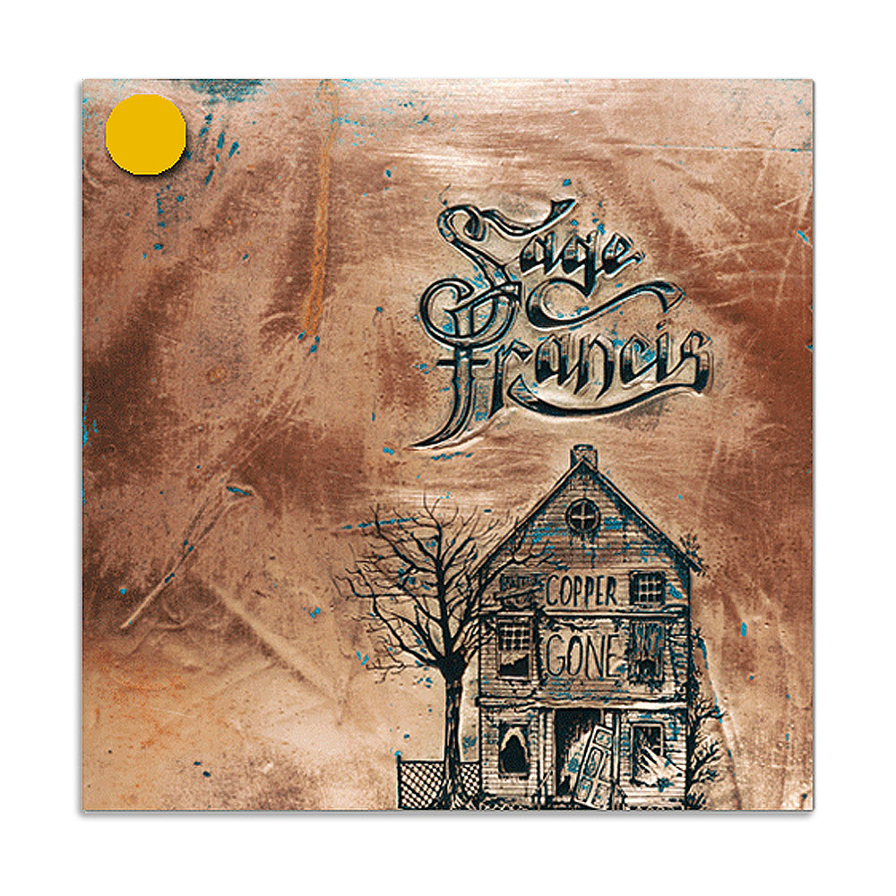 Sage Francis - Copper Gone Double Gold Vinyl