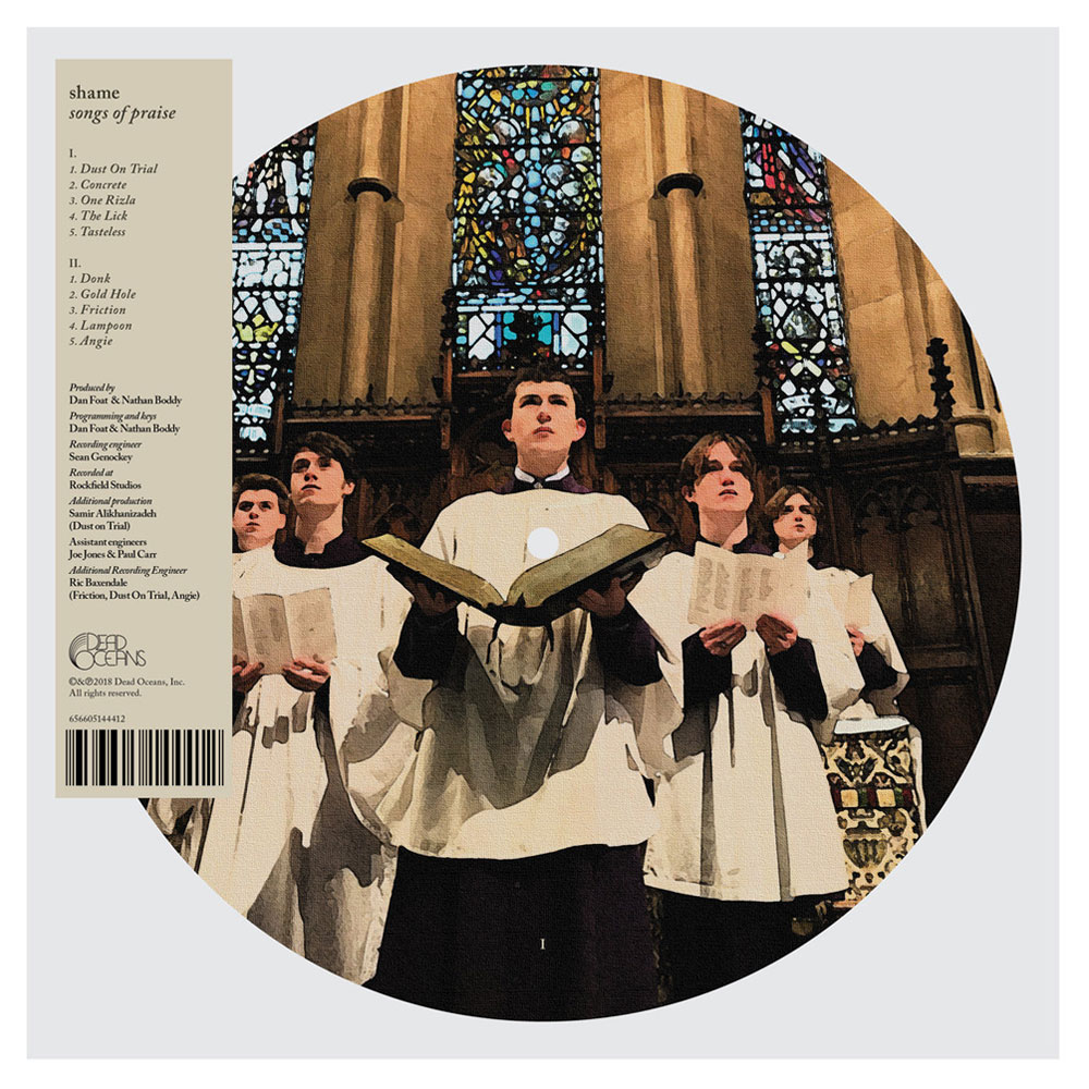 Shame - Songs of Praise (Ltd. Edition Picture Disc)