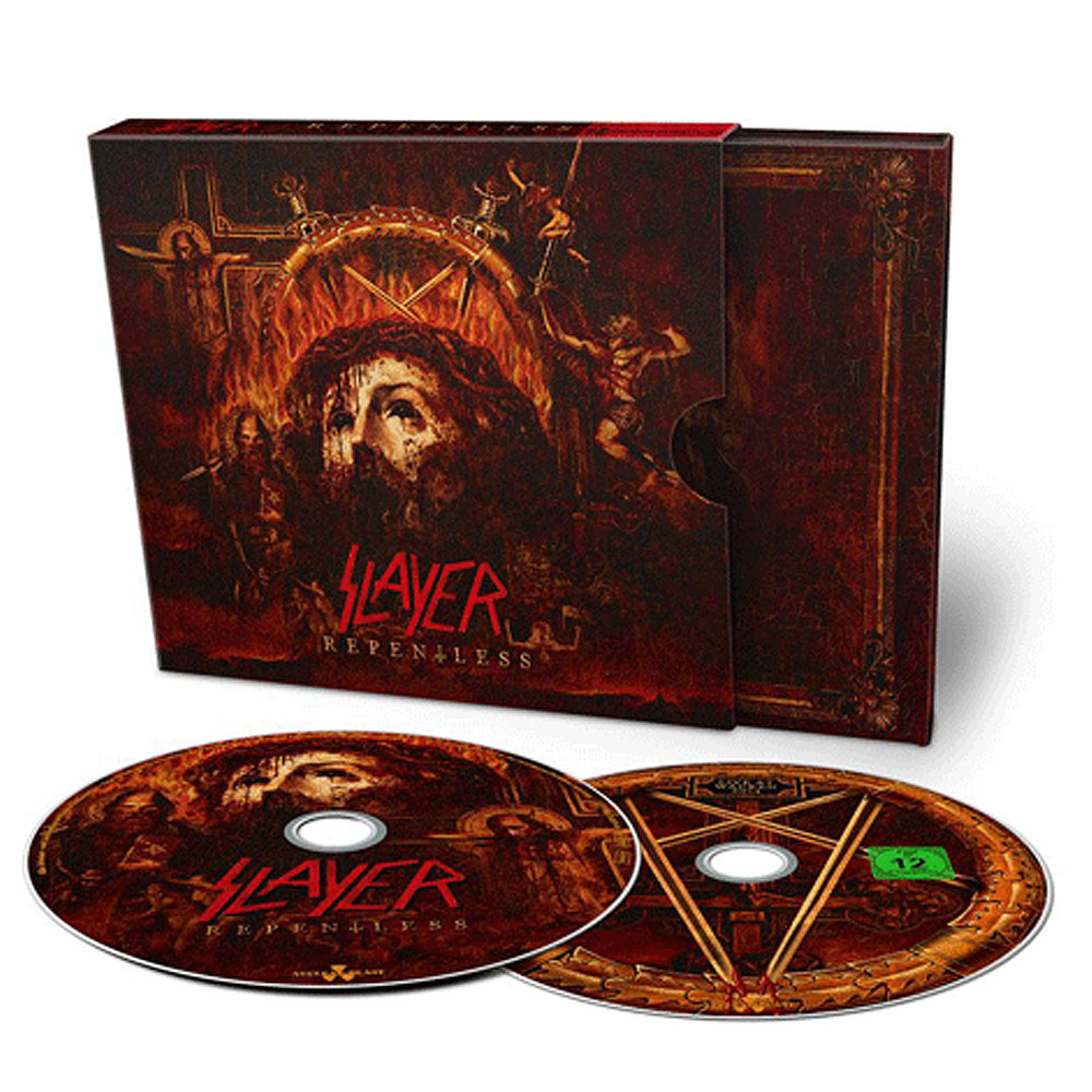 Slayer - Repentless CD/DVD Deluxe