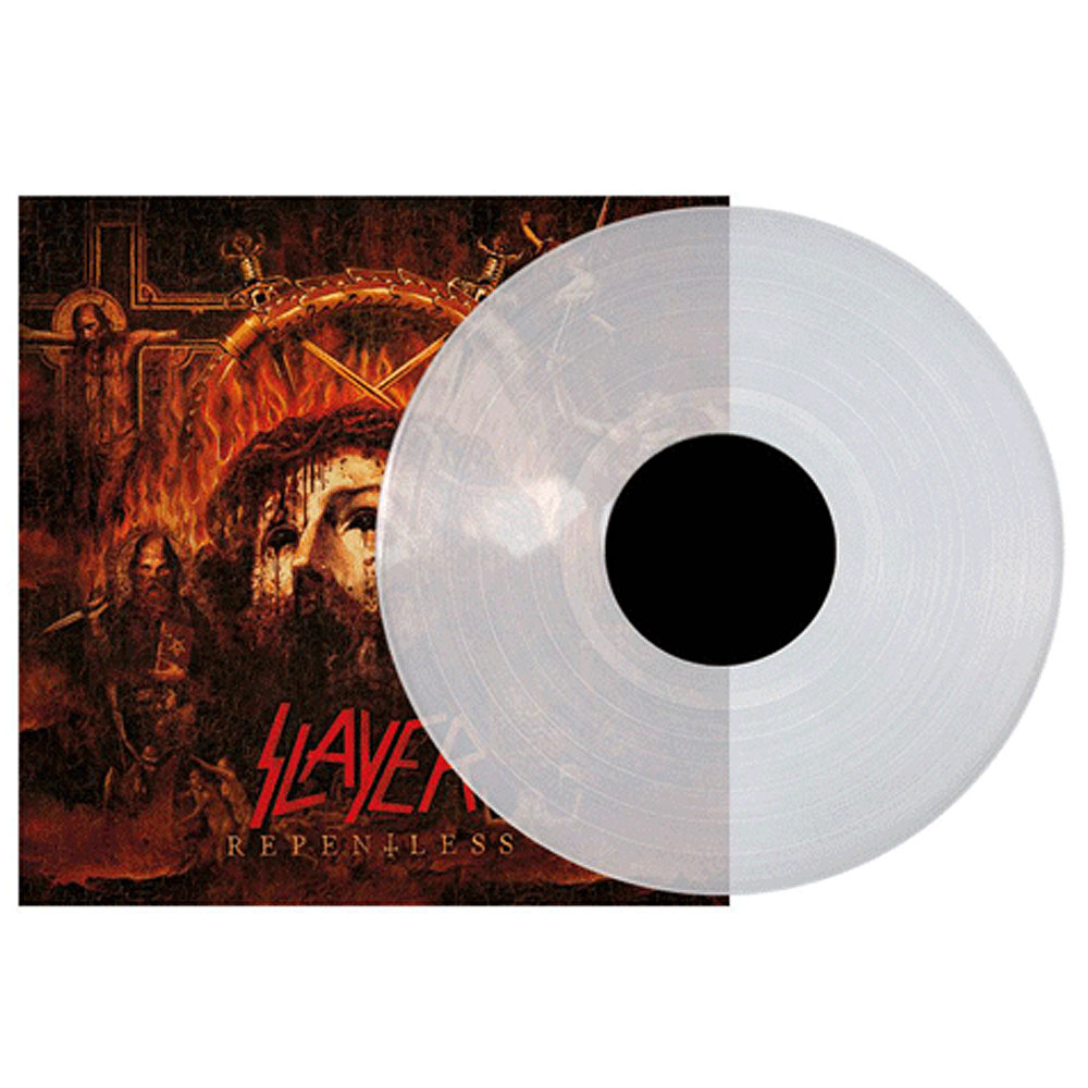 Slayer - Repentless LP (Clear version)
