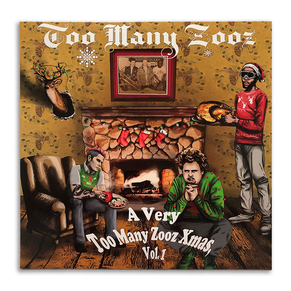 Too Many Zooz - A Very Too Many Zooz Xmas, Vol. 1 (Red)