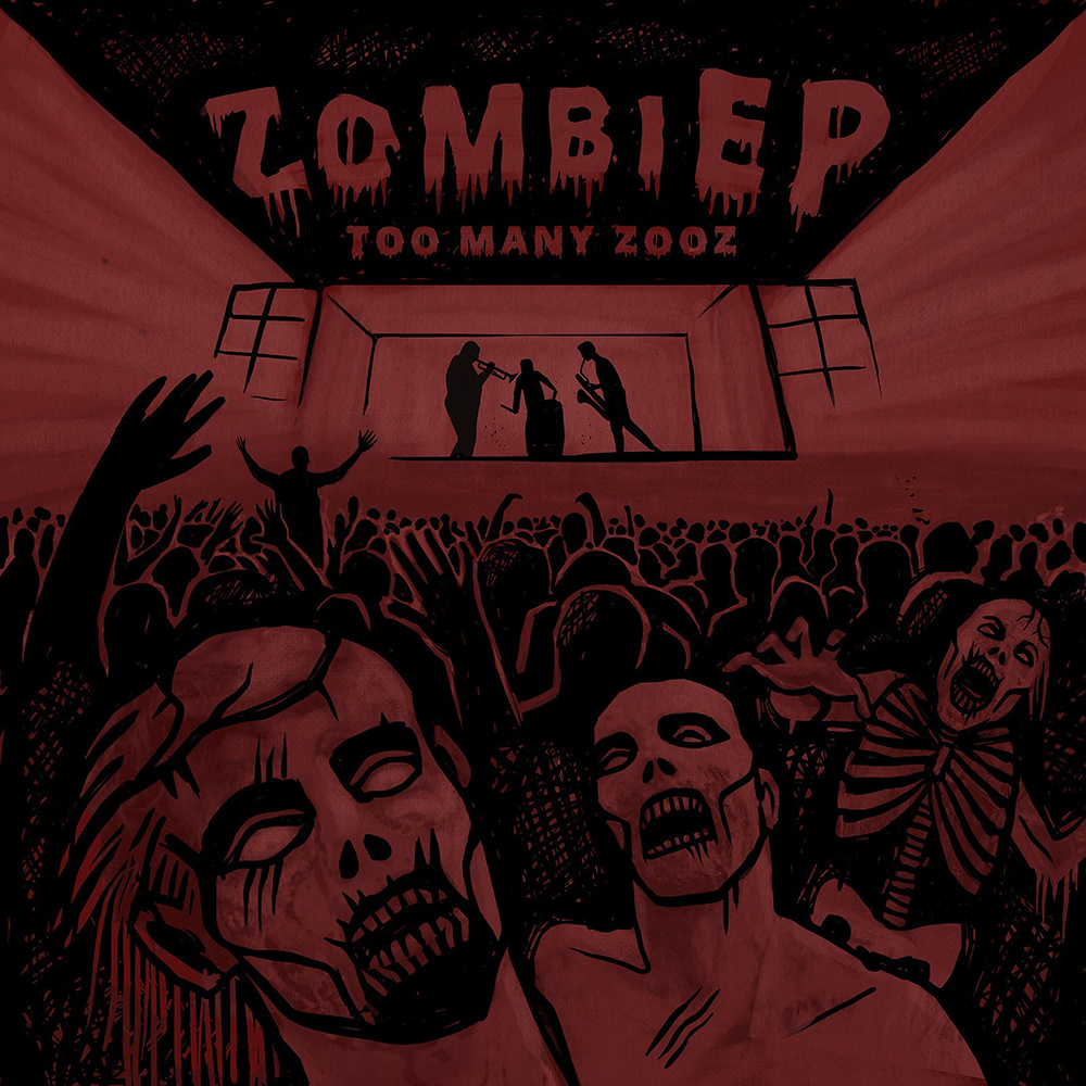 Too Many Zooz - Zombie E.P (CD)