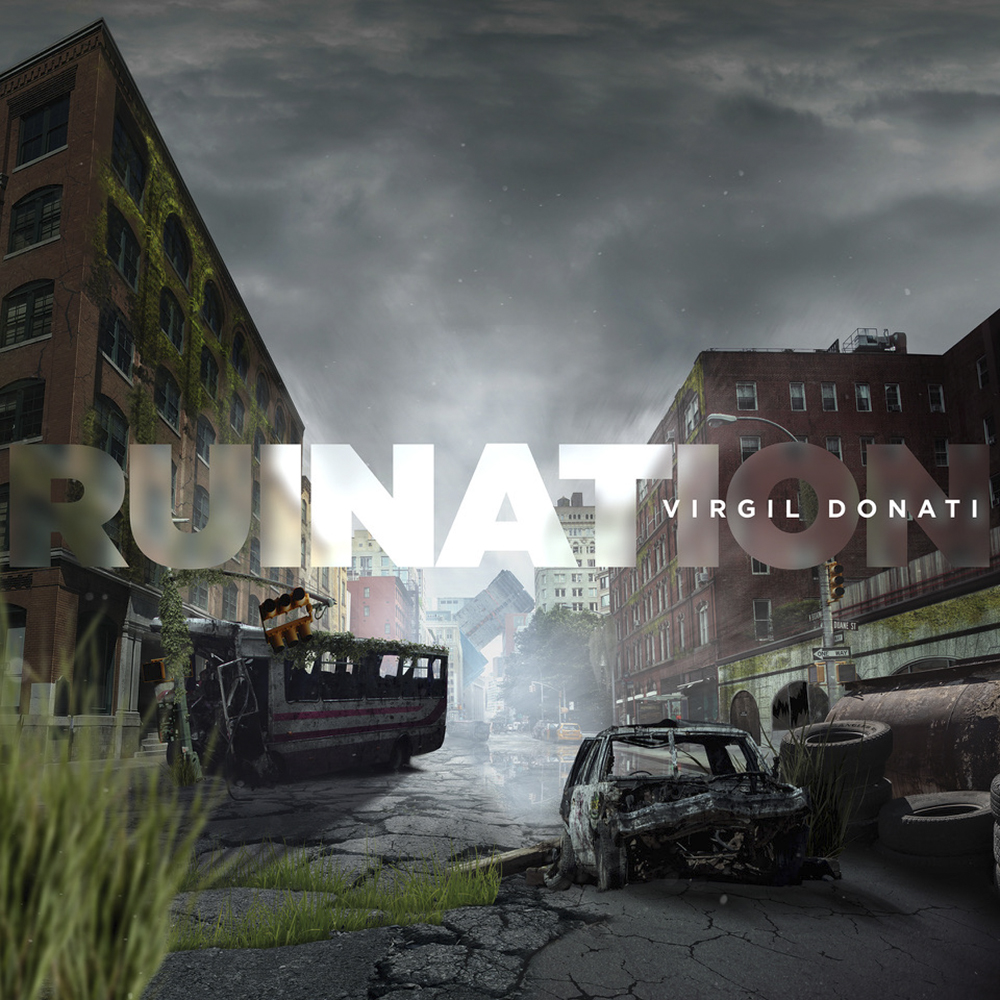 Virgil Donati - Ruination (CD & Digital Booklet)