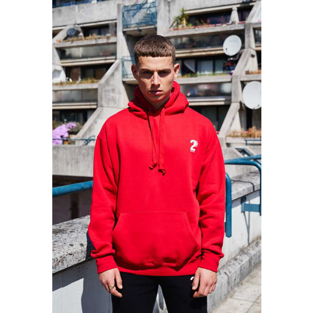 2HR SET - Hero Logo Hoodie (Red)