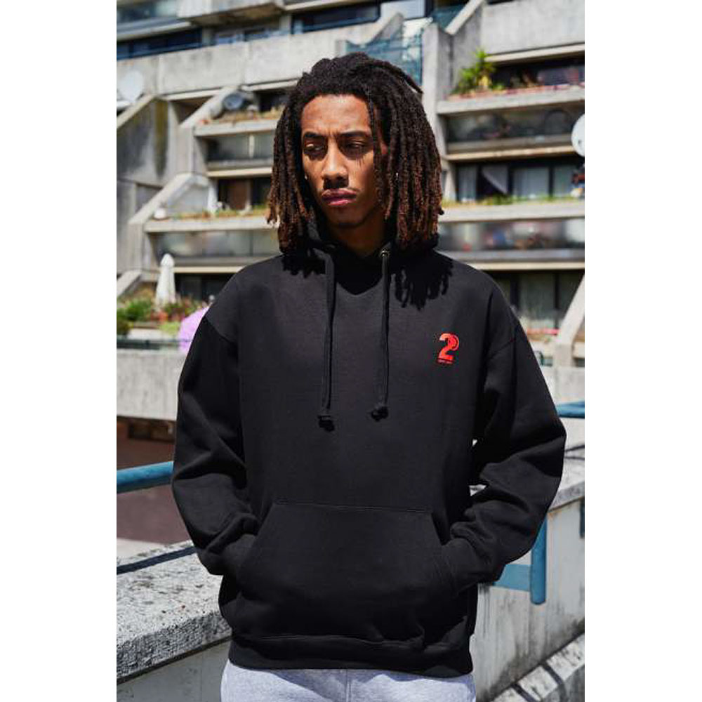 2HR SET - Hero Logo Hoodie (Black)