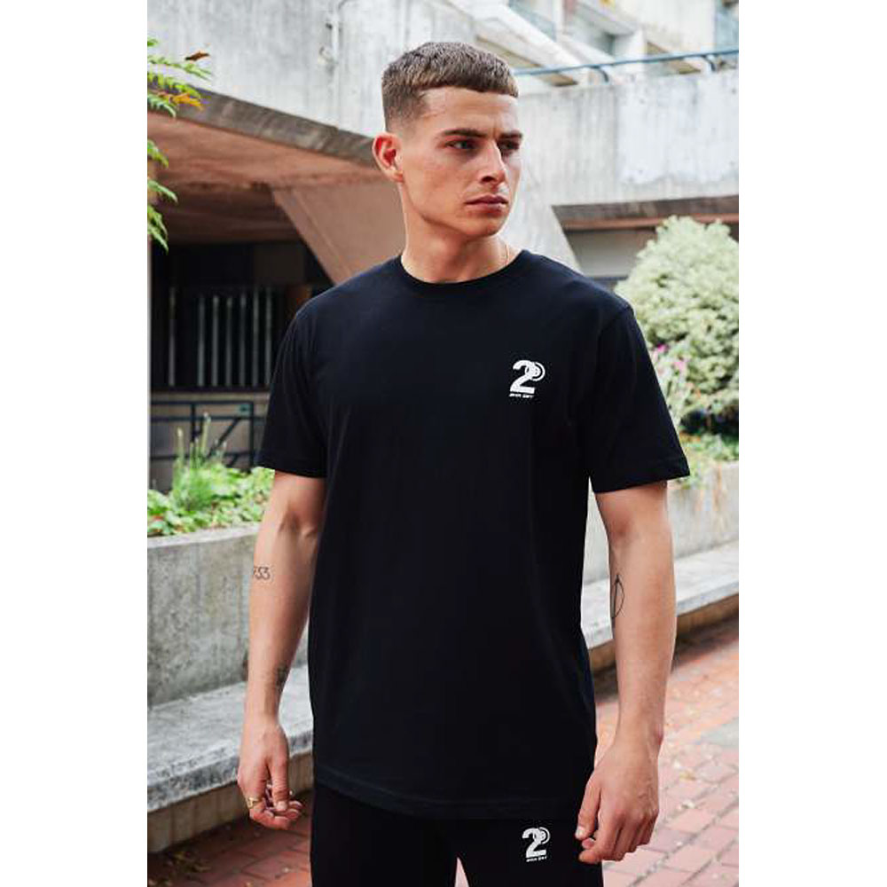 2HR SET - Hero Logo T-Shirt (Black)