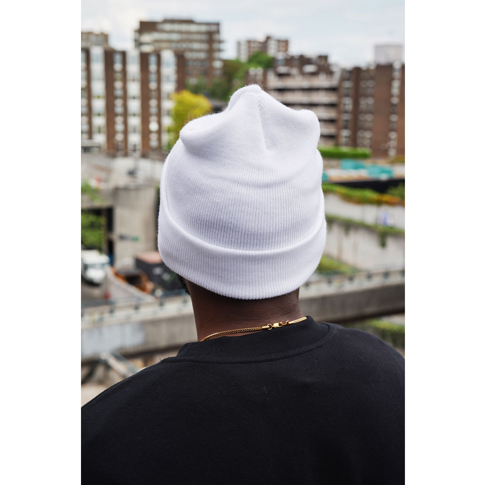 2HR SET - Hero Logo Beanie (White)