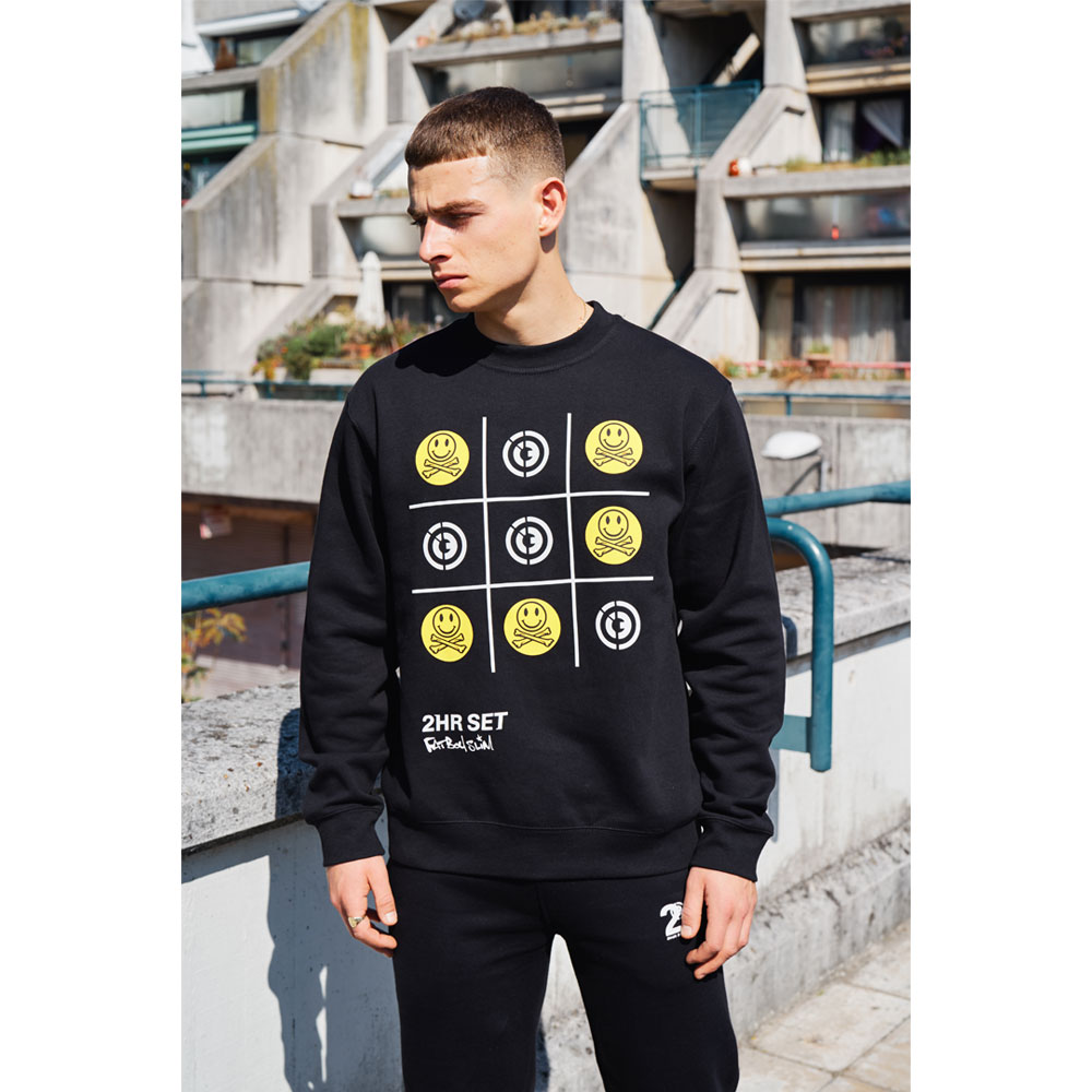 2HR SET - Fatboy Slim x 2HR SET Sweatshirt (Black)
