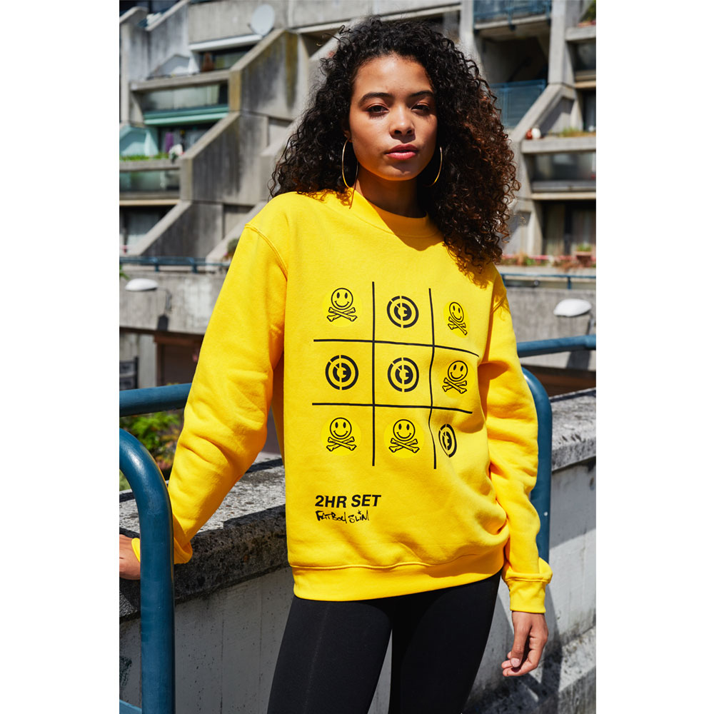 2HR SET - Fatboy Slim x 2HR SET Sweatshirt (Yellow)