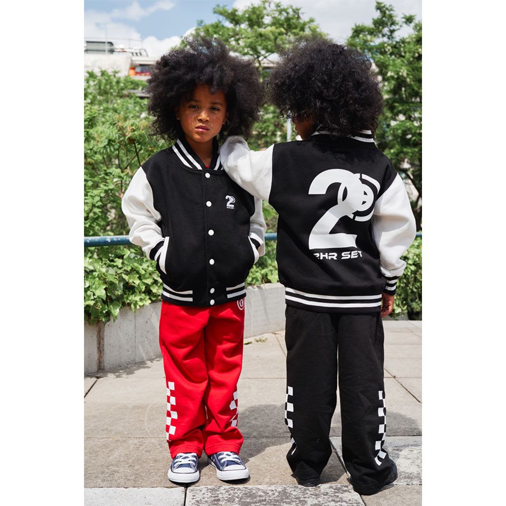2HR SET - Kids Varsity Jacket