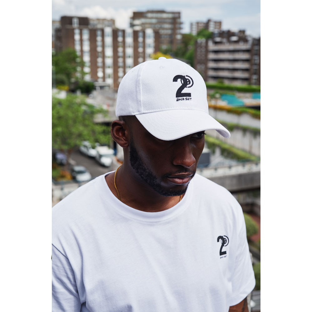 2HR SET - Hero Logo Cap (White)