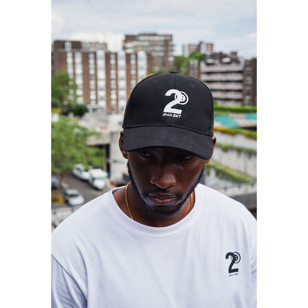 2HR SET - Hero Logo Cap (Black)