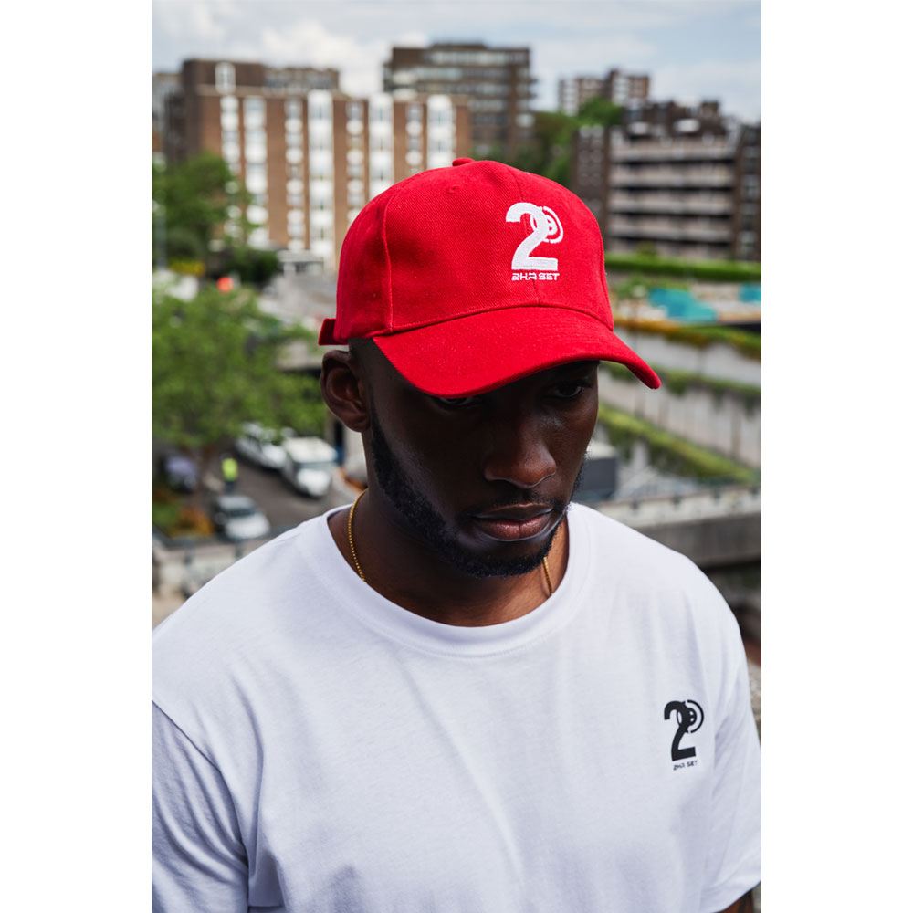 2HR SET - Hero Logo Cap (Red)