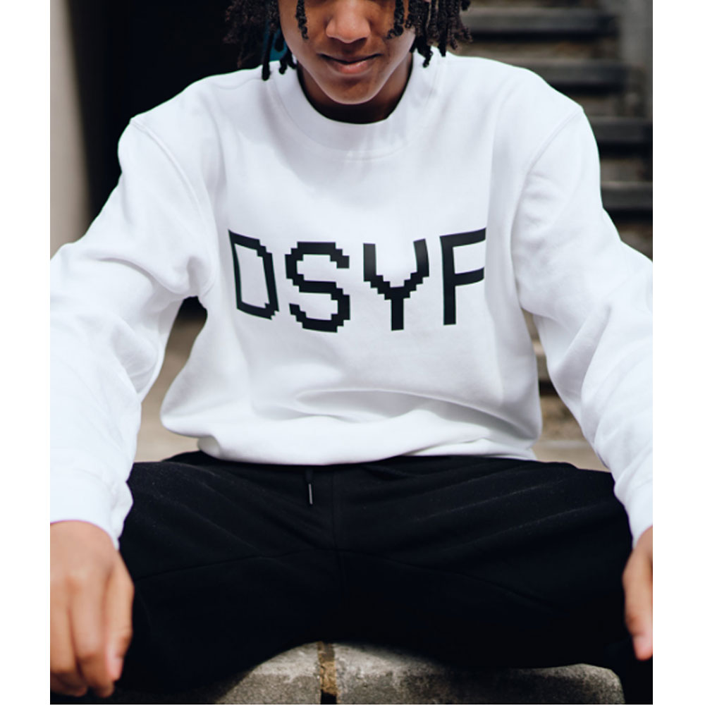 2HR SET - Kids DSYF Sweatshirt (White)