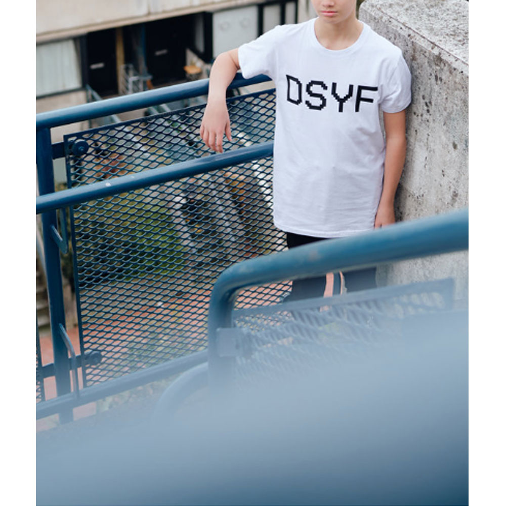 2HR SET - Kids DSYF T-Shirt (White)