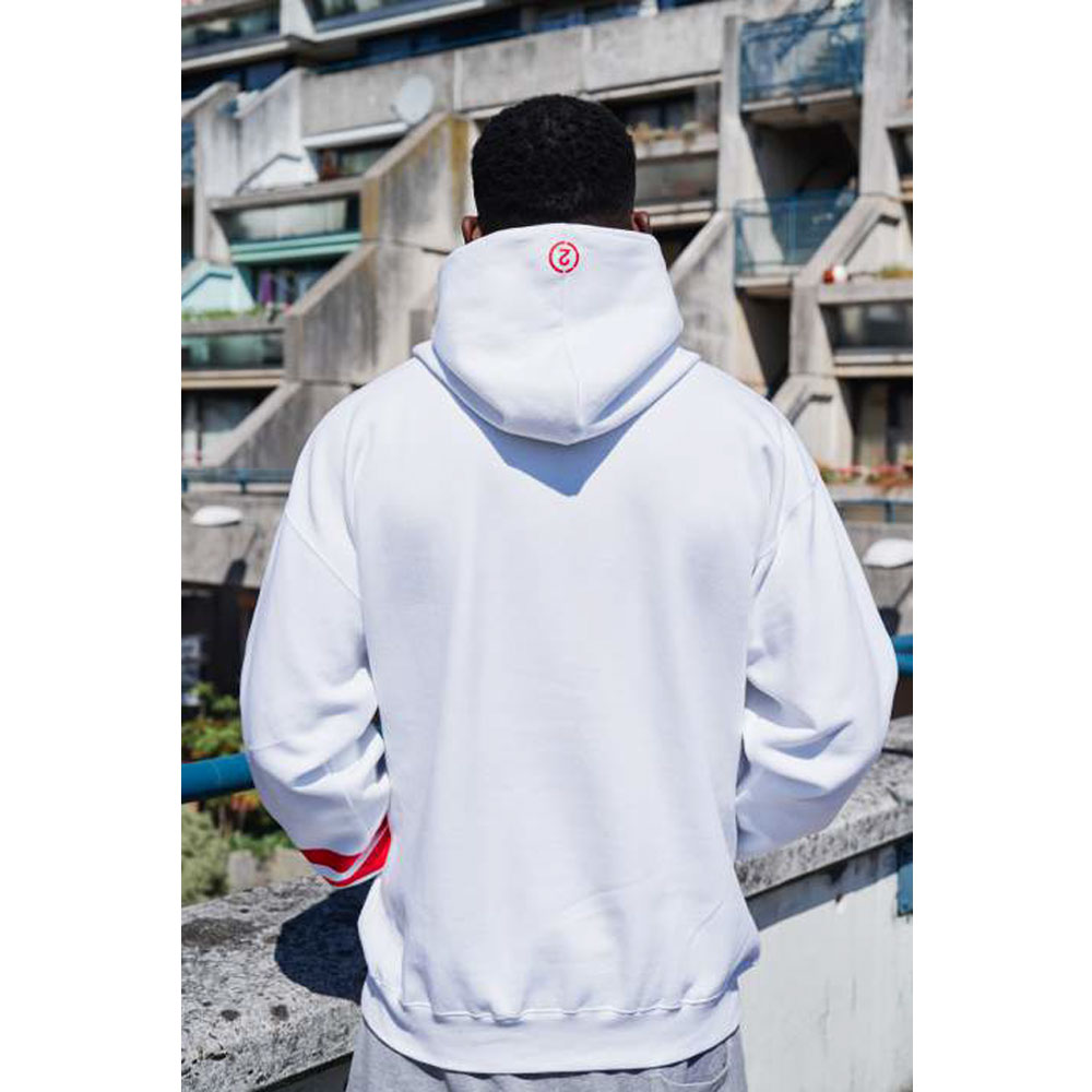 2HR SET - Stripes Hoodie (White)