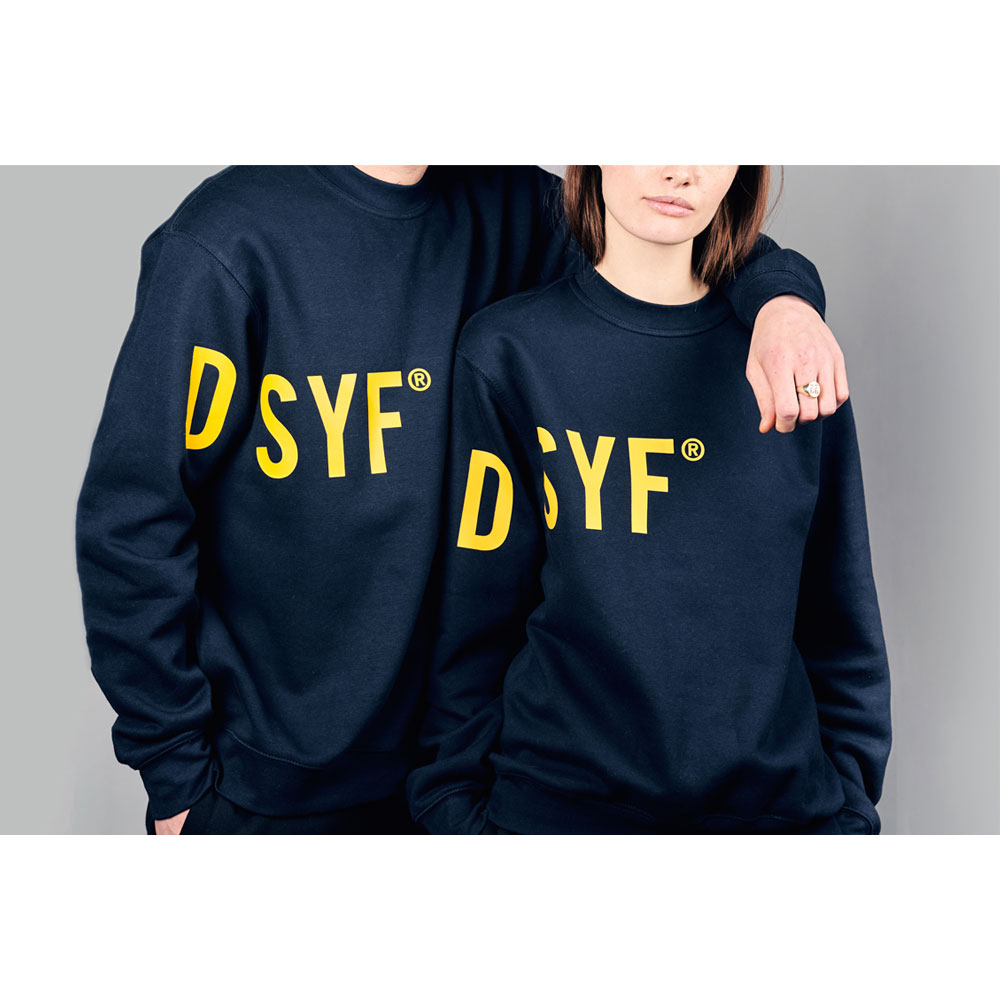 2HR SET - DSYF Sweatshirt (Navy)